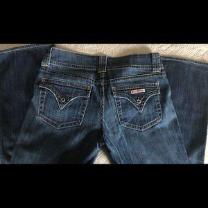 Hudson signature low rise jeans
